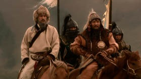 Кадр из фильма ВВС Чингизхан - Субэдей и Чингиз