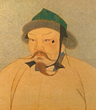 Угэдей хан, третий сын Чингисхана