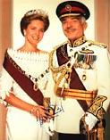 Король Хуссейн и королева Нур Иордания