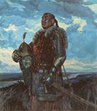 Хан Мамай глава татаро-монгольского войска на Куликовом поле