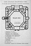 План второго этажа Михайловского замка, Питер