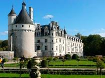 Замок Шанонсо Франция 03