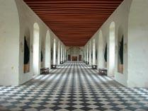Замок Шанонсо Франция 05 внутри