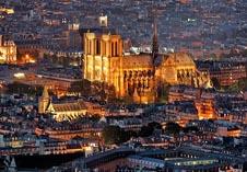 Собор Парижской Богоматери сверху