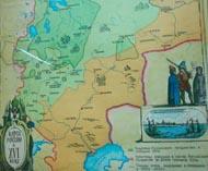 Карта Руси IV века