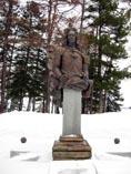 Березов памятник Меншикову