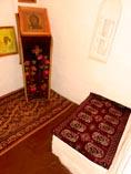Суздальский Покровский монастырь, молельня в надвратной Рождественской церкви Софии Суздальской (в миру Соломонии Сабуровой) 01