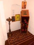 Суздальский Покровский монастырь, молельня в надвратной Рождественской церкви Софии Суздальской (в миру Соломонии Сабуровой) 02