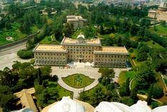 Ватикан резиденция папы римского