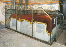 Московский Кремль Архангельский Собор надгробие Ивана Грозного и его сыновей Ивана и Федорова