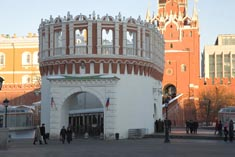 Башни Кремля Кутафья