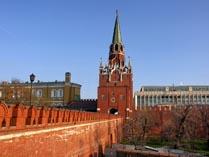 Башни Кремля Троицкая
