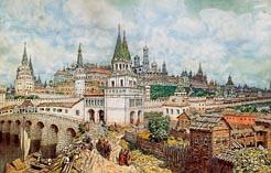 Белокаменная Москва 17 века 04
