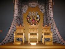 Московский Кремль Большой Кремлевский дворец тронный зал