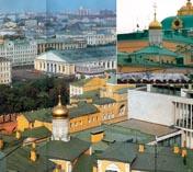 Московский Кремль Церковь Богородицы на Сенях