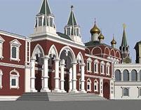 Московский Кремль Чудов монастырь рекострукция 02