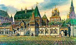 Палаты Натальи Кирилловной Нарышкиной в Кремле