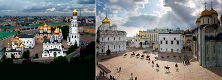 Московский Кремль Соборная площадь