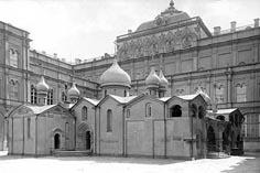 Московский Кремль Церковь Спаса на Бору