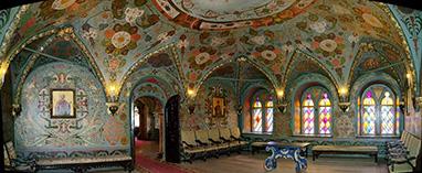 Московский Кремль Теремной дворец внутренний интерьер