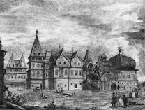 Москва Дворец Алексея Михайловича в Коломенском (гравюра)