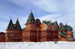 Москва Дворец Алексея Михайловича в Коломенском (реконструкция)