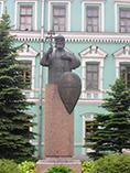 Москва Свято-Данилов монастырь памятник Святому Владимиру
