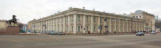Питер,  Аничков дворец