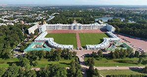 Питер Царское Село вид сверху