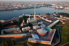 Питер Петропавловская крепость вид сверху