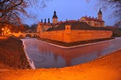 Несвижский замок Радзивиллов в Белоруссии