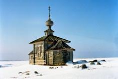 Большой Заяцкий остров церковь Андрея Первозванного