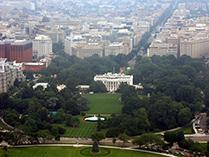 Америка Резиденция Президента США Белый Дом