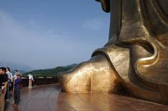 Самая большая скульптура на сегодня Будда весеннего Храма