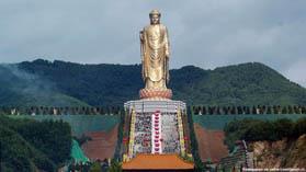 Самая большая скульптура в мире Будда весеннего Храма