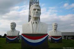 Бюсты Президентов США