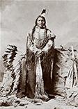 Вождь племени Лакота - Неистовый Конь фото