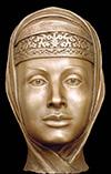 Анастасия Романовна первая жена Ивана Грозного, реконструкция по черепу