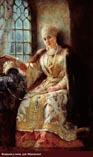 Боярыня у окна, Маковский