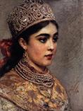 К сожалению, прижизненного портрета Годуновой Марии Григорьевны не сохранилось