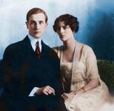 Феликс и его жена Ирина Юсуповы