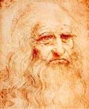 Леонардо да Винчи в старости