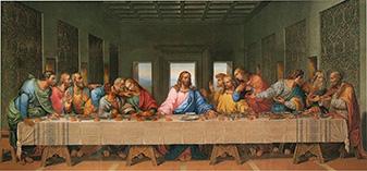 Тайная вечеря - фреска, созданная в 1495—1498 годы в доминиканском монастыре Санта-Мария-делле-Грацие в Милане