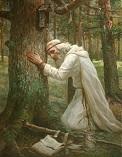 Моление у Таежного скита
