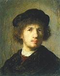 Рембрандт, автопортрет 1630 года