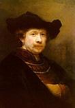 Рембрандт, автопортрет 1640 года