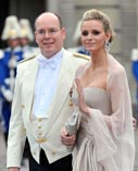 Свадьба князя Монако Альбера и Шарлин Уиттсток