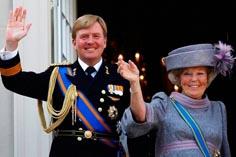 Король Нидерландов Виллем-Александр на коронации