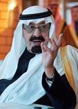 Предыдущий король Саудовской Аравии Абдалла ибн Абдель Азиз ас-Сауд