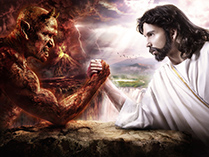 Дьявол и Бог меряются силой